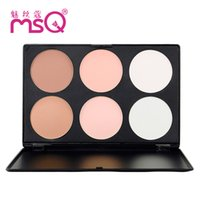 best pressed powder makeup - MSQ contour kit Bronzers Highlighters Colors Best Quality new Face Makeup Face Powder natural color cosmetics B