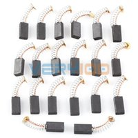 Wholesale 20pcs Electric Tool Motor Carbon Brushes Motorcarbon mm x mm x mm order lt no track