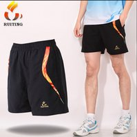 Wholesale New Arrival Elastic Waistband Male Table Tennis Shorts Comfortable Fabric Badminton Shorts Y1234