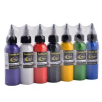 Wholesale 7pcs ink New TOP High Quality HAO Tattoo Ink Pigment ML OZ for Permanent Body Makeup Tattoo ink
