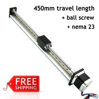 Wholesale Mm Stroke Nema Stepper Motor and Ball Screw Driven Cnc Linear Motion Guide For Cutting