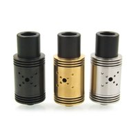 big heatsink - Vaporizer Mutation X V3 RDA Atomizer T post for single Dual Even coils BIG post hles For ga wire Top heatsink
