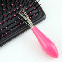 Wholesale 2016 Comb sweeper Clean up her hair wire steak Hair sweeper comb tools