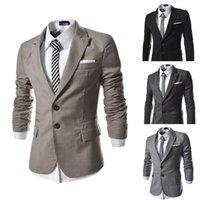 Wholesale 2015 New Men Casual Blazer Slim Fit Suit Cool Blazer Fashion Suit For Men Jackets