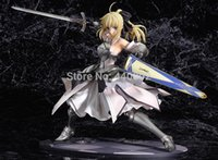 avalon movie - 1 Fate Stay Night Saber Lily Avalon Painted PVC Figure B New in Box Toy