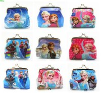 Wholesale 2015 Fashion New Girls D Cartoon Minions Despicable ME Frozen Coin Purses with iron button Bag Wallet Purse Gifts fro Children Hot Sale