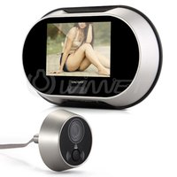 Wholesale Digital Door Peephole Viewer Camera Inch LCD Monitor Doorbell Degree View Angle