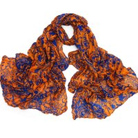 art scarves - MaiKun new Scarf Pop Art Skull Print Cotton Scarf colors cheap price