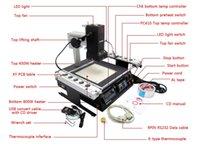 Wholesale BGA rework station IR6000 V LY BGA machine IR6000 with BGA reballing kit solder ball solder flux