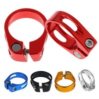 Wholesale 31 mm Aluminum Alloy MTB Bike Bicycle Cycling Saddle Seat Post Clamp New H1E1