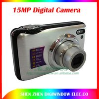 Wholesale 15 Mega pixels Digital Camera with inch LCD X Digital ZOOM Gift cameras