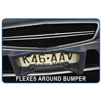 Wholesale American car license protector license plate holder of Car accessories Black EVA Material For Plate Frame protective Hot Sale