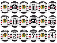 chicago - Chicago Blackhawks Stadium Series White Crawford Hockey Jerseys Best quality ICE Winter Jersey Embroidery Logo Size M XL Mix Order