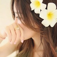 Wholesale 2 HOT Summer Style Women Hawaii Flower Corsages Brooch Pin Clip Seaside Wedding Bridal Hair Accessories