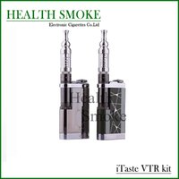 Cheap lectronic Cigarettes Electronic Cigarette Kits Original Hot Innokin iTaste VTR E Cigarette Mechanical Mod 3.0ml with iClear 30S Atomizer...