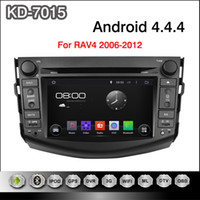 Wholesale Pure Android inch Capacitive Touchscreen Car DVD Player For Toyota RAV4 With GPS Navigation G WIFI PC Bluetooth
