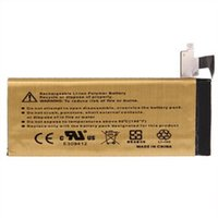 Wholesale High Capacity Battery mah Gold Replacement Li ion Battery for iPhone S GS G S C iphone5 iphone4 G Free UPS