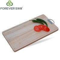 Wholesale Ya imported rubber wood cutting board chopping wood chopping board with natural antimicrobial chute grindstone