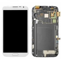 note 2 lcd screen - OEM Samsung Galaxy Note N7100 N7105 i317 T889 LCD Display Touch Screen Digitizel Glass Full Assembly with Frame