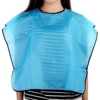hair cutting cape - Salon Hair Cutting Dye Perm Hairdressing Barber Blue Waterproof Cape Cloth Styling Tools