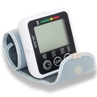 automatic digital blood pressure monitor - Automatic Digital Wrist Blood Pressure monitor and Pulse Monitor Sphygmomanometer Portable Blood Pressure Monitor Health Care