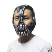 bane mask adult - Fashion Bane Mask The Dark Knight Batman Movie Halloween Costume Cosplayer Prop