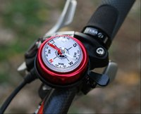 bell bike accessories - Bicycle accessories aluminum bell horn mountain bike compass bell for handlebar diameter mm colors available