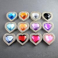 Wholesale The Lowest Price Heart Design with Diamond Ring Folding Purse hanger Bag Hanger Handbag Hanger Free ship