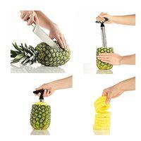Wholesale Stainless Steel Pineapple Corer Slicer Cutter Peeler Stainless Steel Kitchen Easy Gadget Fruit