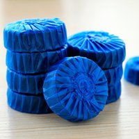 Wholesale 12 Automatic Toilet Bowl cleaning blue touch flushing toilet cleaners Deodorizes flushes Novelty household