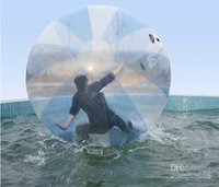 walk on water ball - 2m diameter mm thickness PVC OR TPU inflatable Zorb Water Walking Ball walk on water TIZIP zipper