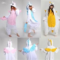 Wholesale Helloween New arrival unicorn pajama kawaii Onesie anime hoodie Pyjamas cosplay