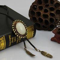 Wholesale 2015 new Luxury brands copper Diamond necklace bolo tie fashion super star Shirt neck la Tie Indian Ladies Woman Cowgirl