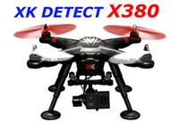 b w video - New arrvial RC Airplane XK DETECT X380 X380 A X380 B X380 C FPV GPS RC Quadcopter RTF drone W GOPRO BRUSHLESS GIMBAL P HD CAMERA