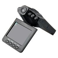 Precio de Cámaras de guión recuadro negro-2.5 '' cámara de la cámara del registrador del coche DVR de las cámaras de la leva del coche cámara negra del cuadro H198 de la versión de la noche Cámara de la rociada del registrador video 6 IR LED