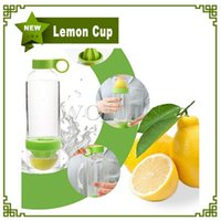 boxes boxes fruit - Hot New Citrus Zinger Lemon Cup Fruit Infusion Water Bottles With Citrus Juicer With Retail Box