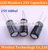 Wholesale Hot Sale LCD monitors V capacitors UF v Electrolytic capacitor order lt no track