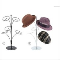 Wholesale Metal Multi functional hanging hat rack hat display stand rack