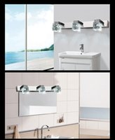 Wholesale New Modern LED Crystal Wall Lamp Bathroom Lighting Mirror Light x W
