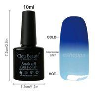 best art manufacturers - Best Price Clou Beaute Colors Temperature Change Color Nail Art Gel Nail Polish Manufacturers