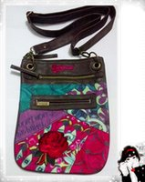 Wholesale 2014 New desigual beautiful women s bag shoulder Messenger bag With PU Leather Canvas xy029