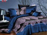 Wholesale Hot sale NEW D bedding set king size bed linen include duvet cover bed sheet pillow cases reactive printing