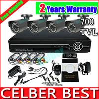 Wholesale Vanxse CCTV CH DVR H X Cmos TVL IR Security Camera System surveillance System CCTV Complete system