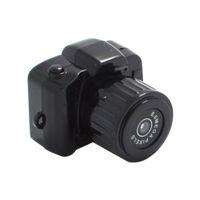 Wholesale New Arrival Portable Smallest P HD Webcam Mini Camera Video Recorder Camcorder DV DVR Y3000 Free Drop Shipping