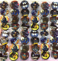 Wholesale Batman Super Heroes Marvel CM pin badge new Cartoon Anime PIN back BUTTONS PARTY BAG GIFT CLOTH