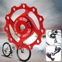 Wholesale 2015 MTB Kactus A04 Aluminium T Jockey Wheel Rear Derailleur Pulley for SHIMANO SRAM Speed Bicycle Parts