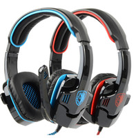 Wholesale SA Surround Stereo USB Headband Headphone Headset with Microphone
