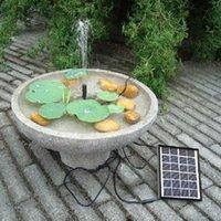 fountain pump water - Decoracion jardin Solar Panel W Water Pump Kit Fountain Pool garden jardin solar water pump decoration jardin