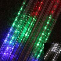 led meteor light - Hot Christmas lights LED Meteor Shower lamp CM to Tube For Christmas Decoration LED lights Christmas party string lights