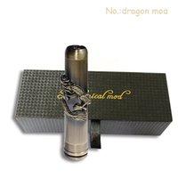 Cheap Dragon mod Electronic cigarette mechanical mod with 18650 battery big vapor